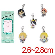 Final Fantasy anime key chains set(5pcs a set)