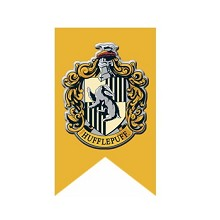 Harry Potter Hufflepuff cos flag