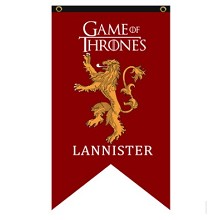 Game of Thrones LANNISTER cos flag