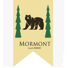 Game of Thrones MORMONT cos flag
