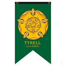 Game of Thrones TYRELL cos flag