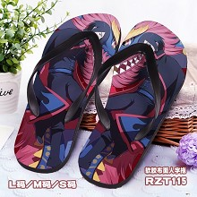 Naruto anime shoes slippers a pair
