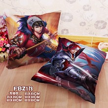Hero Moba two-sided pillow
