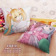 The anime two-sided pillow