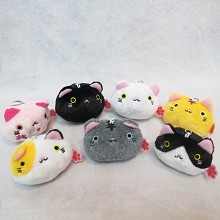 3inches Atsume anime plush dolls set(7pcs a set)