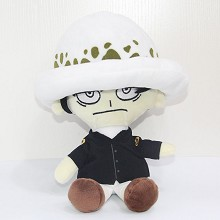13inches One Piece Law anime plush doll