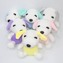 7.6inches Snoopy plush dolls set(6pcs a set)