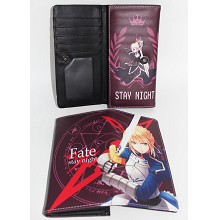 Fate anime long wallet