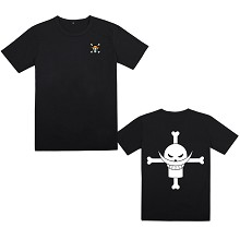 One Piece Edward Newgate anime cotton t-shirt