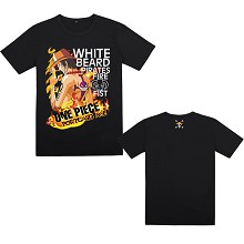 One Piece ACE anime cotton t-shirt