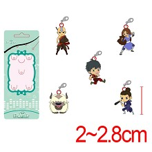 Avatar: The Last Airbender key chains a set