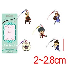 Avatar: The Last Airbender phone straps a set