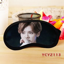 Star LU HAN eye patch