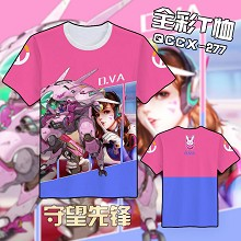 Overwatch D.VA t shirt