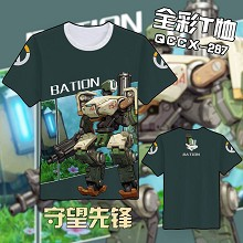 Overwatch Bastion t shirt
