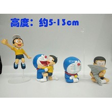 Doraemon anime figures set(4pcs a set) no box