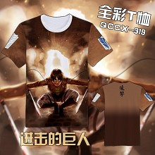 Attack on Titan anime t shirt