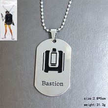 Overwatch bastion necklace