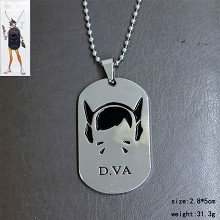 Overwatch DVA necklace