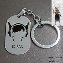 Overwatch DVA key chain