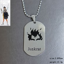 Overwatch junkrat necklace