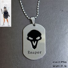 Overwatch reaper necklace