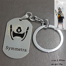Overwatch symmetra key chain
