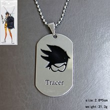 Overwatch tracer necklace