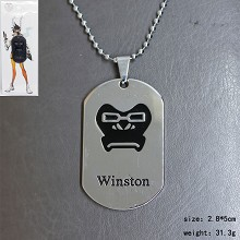 Overwatch winston necklace