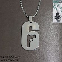 Rainbow Six necklace