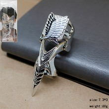 Attack on Titan anime ring