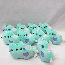4inches Pusheen plush dolls set(10pcs a set)