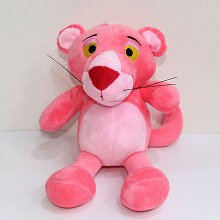 8inches Panthera pardus plush doll