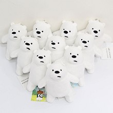 5inches We Bare Bears plush dolls set(10pcs a set)