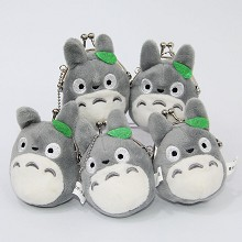 3inches TOTORO plush key chain bags set(5pcs a set...