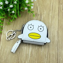 Gintama anime key chain bag