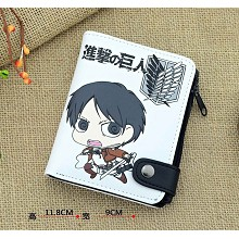 Attack on Titan anime wallet