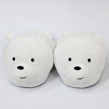 We Bare Bears anime plush shoes slippers a pair 28...