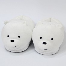 We Bare Bears anime plush shoes slippers a pair 280MM