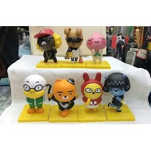 KakaoTalk figures set(7pcs a set)