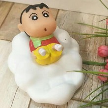 Crayon Shin-chan doll phone mobile holder