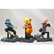 Dragon Ball soul anime figures set(3pcs a set)
