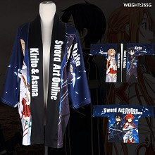 Sword Art Online anime kimono cloak mantle hoodie
