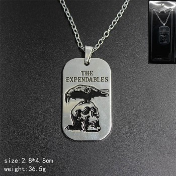 The Expendables necklace