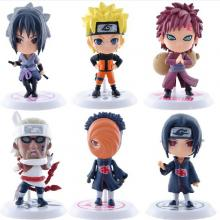 Naruto anime figures(6pcs a set)