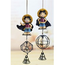One Piece Luffy anime windbell wind chimes set(2pcs a set)