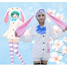 Hatsune Miku cosplay dress cloth a set