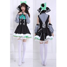 Love Live Ellie cosplay dress cloth a set