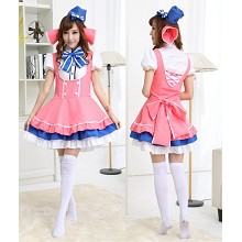 Love Live Kotori Minami cosplay dress cloth a set