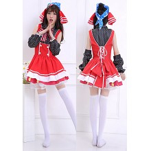 Love Live Maki Nishikino cosplay dress cloth a set